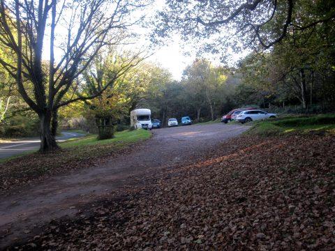 Today - Holford car park