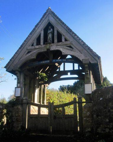 Today - Saint Mary's Church Holford Lychgate