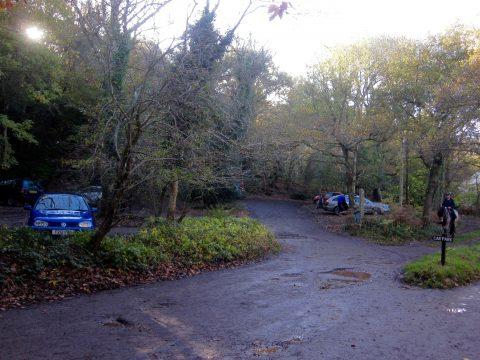 Today - Village car park